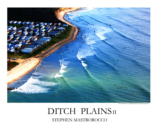 Ditch Plains II Print# 4014