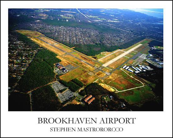 Brookhaven Airport A1 Print# 5104