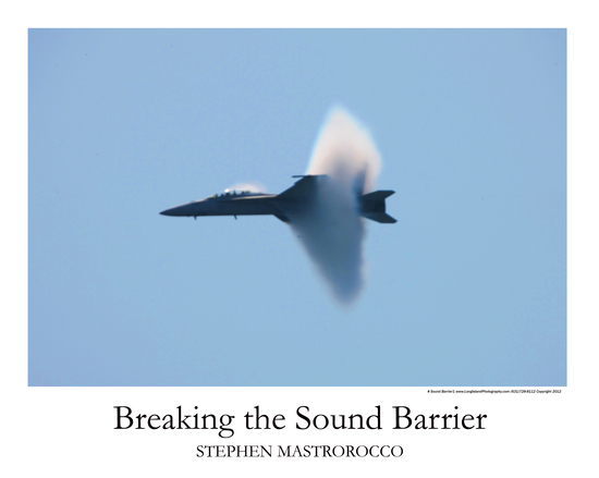 Breaking the Sound Barrier Print# 5110