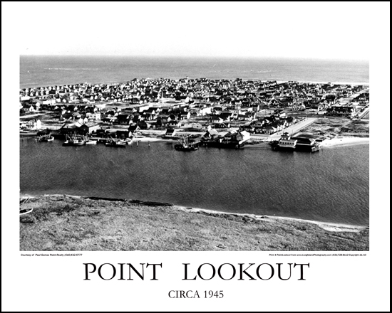 Point Lookout 1945 Print# 7120