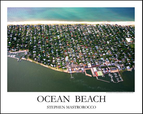 Ocean Beach Horizontal Print 7124