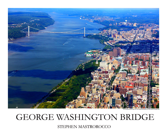 George Washington Bridge Print# 7917