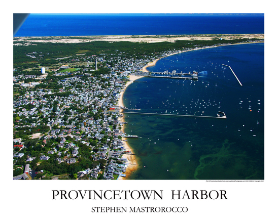 Province Town Harbor Print# 8121