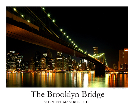 Brooklyn Bridge Print# 8201