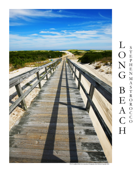 Barnegat Boardwalk Print# 8309